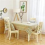 HJHET Moderne und Minimalistische Tischdecken, 140*200cm Stempel rechteckige Tische