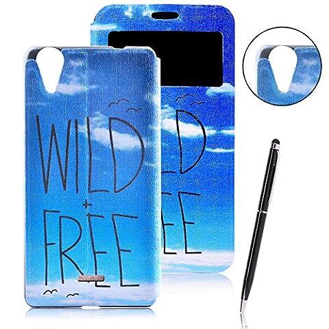 Wiko Birdy 4g Bleu Vert - Wiko Rainbow Lite 4G Housse, CaseLover Motif