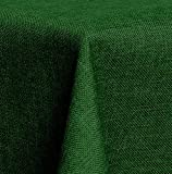 Maltex24 Textil Tischdecke - Leinen Optik - wasserabweisend Eckig 130x260 (Dunkelgrün, ca. 130 x 260 cm)