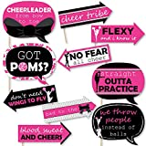Divertente abbiamo Spirit–cheerleading–festa di compleanno o cheerleader party photo booth puntelli kit–10pezzi
