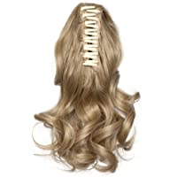 SEGO Extension Coda Capelli Ricci Mossi con Pinza Coda di Cavallo Finta Fascia Unica 30cm Hair Sintetici Posticci 110g…