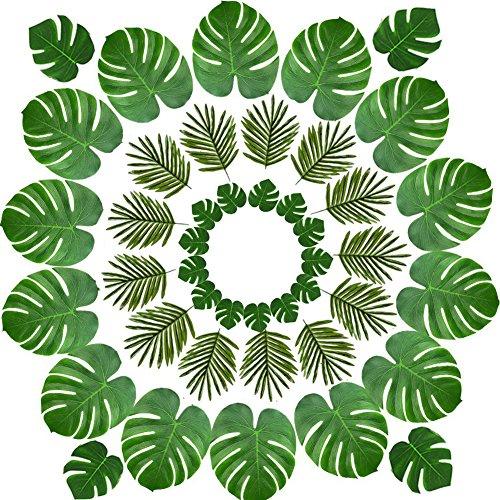 Llegó el verano energético.  Si está pensando en una fiesta temática especial, como el tema luau, el safari o el estilo de la jungla, esta hoja de palma de aspecto natural será su elección.  Los múltiples colores naturales permiten a los huéspedes re...