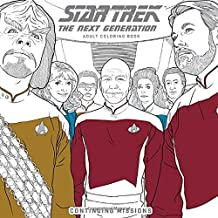 Star Trek: The Next Generation Adult Coloring Book-Continuing Missions (Colouring Books)