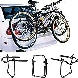 WOLTU® Fahrradträger Rackträger Fahrradhalter Auto Fahrrad hinten Mount montiert 2 Räder Bike klappbar FZU1115-a