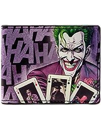 Cartera de DC Comics Batman Laughing Joker Púrpura