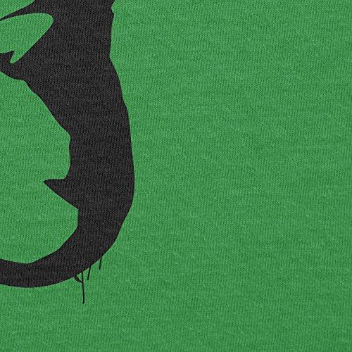Texlab–Banksy Worm–sacchetto di stoffa Verde