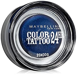 Maybelline Color Tattoo 24Hr Eyeshadow 25 Everlasting Navy by Maybelline
