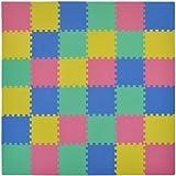 VeloVendo® - Tappeto Puzzle con Certificato CE e Testato TÜV Rheinland in soffice Schiuma Eva   Tappeto da Gioco per Bambini