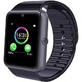 YAMAY Smartwatch Uhr Intelligente Armbanduhr Fitness Tracker Armband Sport Uhr Aktivitätstracker Smart Watch Fitness Uhr Schrittzähler Uhr für Herren Damen mit Kamera Schlafmonitor Kalorienzähler Romte Capture Vibrationsalarm Anruf SMS Whatsapp Beachten für Android Smartphone