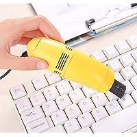 Ballylelly Mini ordinateur aspirateur USB clavier nettoyant PC ordinateur portable brosse Kit de nettoyage de la…