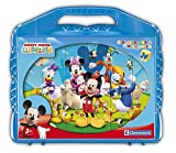 Disney Junior Clementoni Mickey Mouse Club House Cubes Puzzle (24-Piece, Multi-Colour)