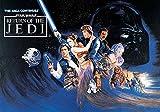 Tapetokids Fototapete - Star Wars Rückkehr Jedi Ritter - Vlies 254 x 184 cm (Breite x Höhe) - Wandbild Star Wars
