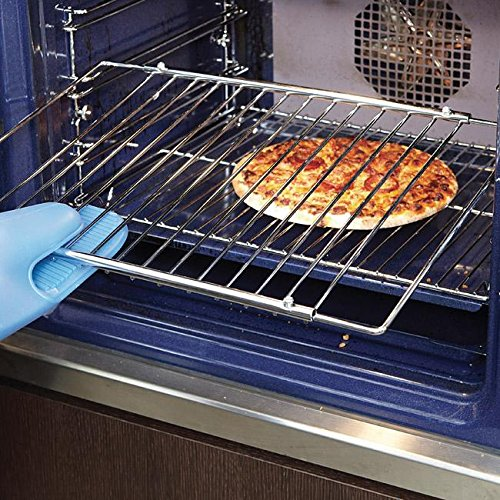 réglable universel en acier chromé four Grille étagère extensible