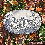Antikas Feenwiese - Relief Wand + Brunnen Dekoration Feen und Elfen Gartenfiguren Stein