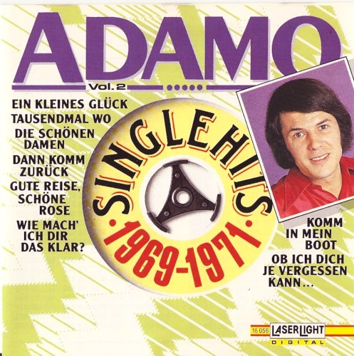 Laserlight (Delta Music) Adamo-Single Hits 1969-1971
