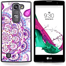 Graphic4You Tatuaje mandala indio Carcasa Funda Rigida para LG G4c