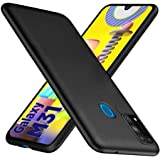 wow imagine anti slip flexible shockproof case for galaxy m31 prime / m31 / f41 | all sides protective rubberised soft back c
