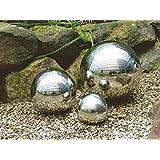 –Bola de decoración de alta calidad acero inoxidable–3Tamaños