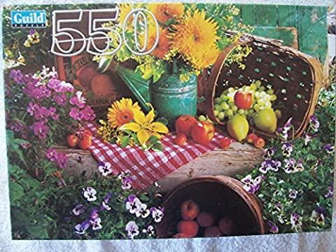 Guild 550 Piece Puzzle Garden Harvest by Guild