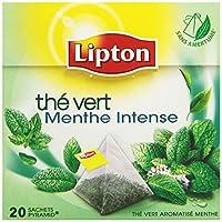 Lipton Thé Vert Menthe Intense