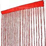 LJ&XJ Farbe Tür fadengardine Quirl, Mutige Wohnzimmer Veranda Partition Hart Gehobenen Weichen Dekoration Quaste Vorhang-E 100x200cm(39x79inch)