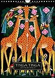 Tinga Tinga (Wandkalender 2014 DIN A4 hoch): Der Zusammenschluss unterschiedlichster afrikanischer Künstler macht diesen Kalender so besonders. Poster-Format. (Monatskalender, 14 Seiten)