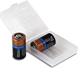Duracell Ultra Lithium CR2 Batterie 3 V, 2er-Box von Weiss - More Power + Entwickelt für die Verwendung in Sensoren, schlüssellosen Schlössern, Blitzlicht und Taschenlampen.