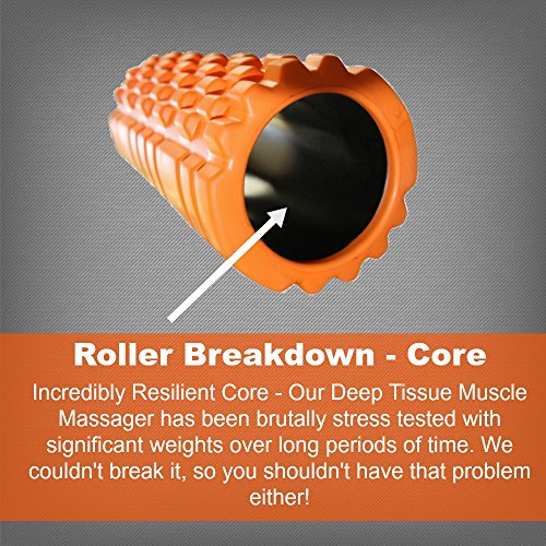 PRIME-DAY-SALE-Trigger-Point-Foam-Roller-for-Deep-Tissue-Muscle-Massage-Helps-with-Myofascial-Release-Pain-Relief-Much-Cheaper-Than-Sports-Therapy-Great-After-Crossfit-Yoga-Pilates-Running-Gym-More-Fr