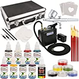 Best Master Airbrush Airbrush Paints - Master Airbrush Deluxe Face and Body Painting Kit Review