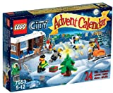 LEGO City - 7553 - Jeu de Construction - Le Calendrier de l'Avent LEGO City