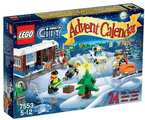 Lego Calendrier - LEGO City - 7553 - Jeu de