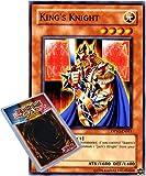 YuGiOh : DPYG-EN011 1st Ed King's Knight Common Card - ( Yugi Duelist Pack Yu-Gi-Oh! Single Card )