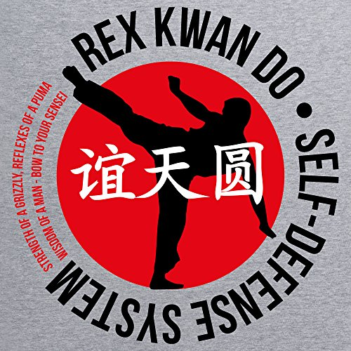Inspired By Napoleon Dynamite - Rex Kwan Do T-Shirt, Damen Grau Meliert