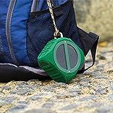 WENLONG Mini - Stereoanlage Tragbare Drahtlose Bluetooth - Schwere Subwoofer Kleine Lautsprecher Wasserdicht - Reiten,Grüne