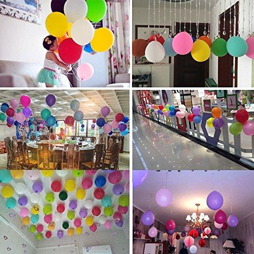 Zoom IMG-3 palloncini colorati e pompa 100