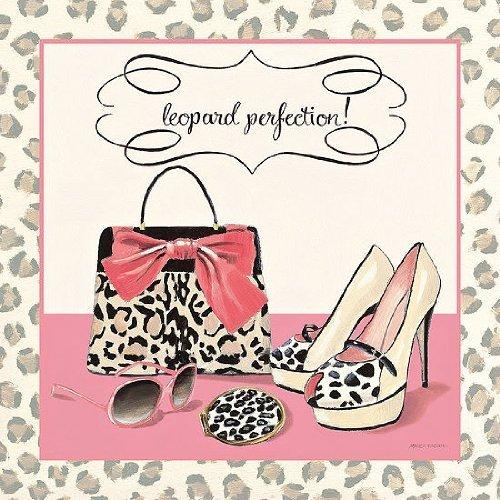 PRONTA da-quadro - Marco Fabiano: Leopard Perfection 30 x 30 cm