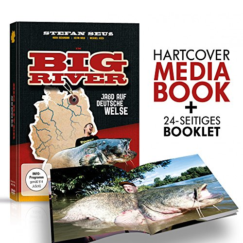 Stefan Seuß Big River DVD - Welsangeln in Deutschland, Wallerangeln Fluss, Angeln auf Wels an Weser, Elbe, Wallerfilm, Welsfilm, Angelfilm, Angeldvd, Wallermontagen, Welse fangen