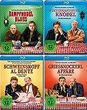 Eberhofer - 4 Blu-Ray Set (Dampfnudelblues + Winterkartoffelknödel + Schweinskopf al dente + Grießnockerlaffäre) im Set - Deutsche Originalware [4 Blu-rays]