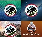 #2: MacOs Sierra + mac os mavericks + OS X Mountain Lion + Mac OS X Yosemite Install/Upgrade/Recovery/USB Pendrive 32GB