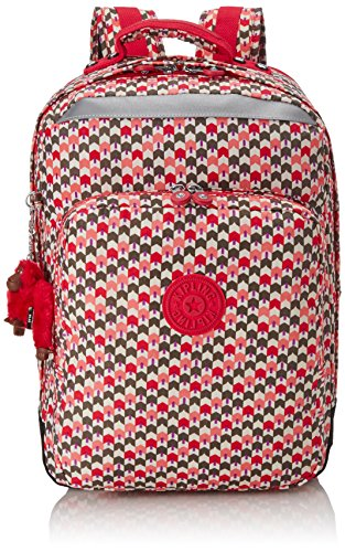 Kipling - COLLEGE - Grand sac à dos - Mojito Green C - (Vert) Latin Mix Pink