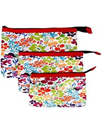 Multi Purpose Pouches And Bag(Set Of 3 L/M/S)Digital Printed - B019FBF3KG