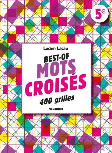Mots croisés de Lucien Lacau (28 janvier 2015) Broché