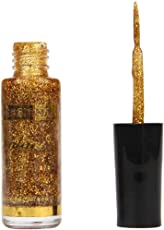 WILLTOO Glitter Nail Polish Strokes Manicure Nail Polish Painting Pen Size:5.8cm*5.8cm Gold