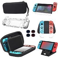 13 in 1 Kit di Accessori per Switch Nintendo Vieni con Custodia per Il Trasporto Degli Interruttori Nintendo, Protezione…