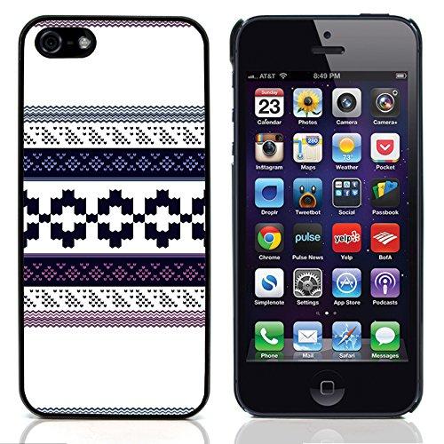 Graphic4You ORANGE CANVAS Muster Harte Hülle Case Tasche Schutzhülle für Apple iPhone 5 und 5S Design #6