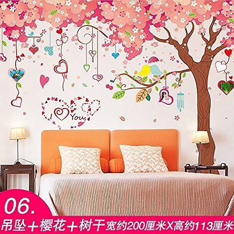 Npwmaxmin autoadesiva parete fiore