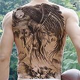 EROSPA® Tattoo-Bogen temporär - Aufkleber Ganzer Rücken