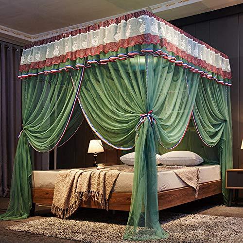 Zanzariera - zanzariera estiva in acciaio inox 1.8-2.0 letto verde 2.0m (6.6 ft) di letto