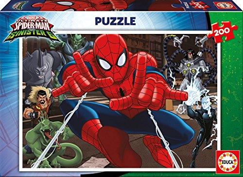 Spiderman - Puzzle de 200 Piezas (Educa Borrás 17178)