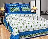 Casa Confort Jaipuri Cotton Bedsheet set...